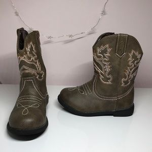 Other - Toddler Girl Cowgirl Boots *8